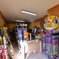 *レンタルスキー/手ぶらでスキー!レンタルも受け付けております!フロントまでお声掛け下さい。