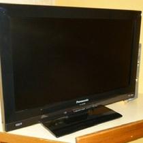 テレビは全室液晶パナソニック「ビエラ」