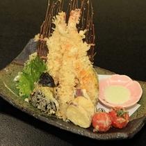 【一品料理※当日可】天ぷらの盛り合わせ¥1,030