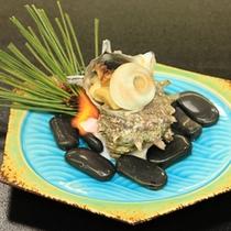 【一品料理※当日可】サザエのつぼ焼¥1,230