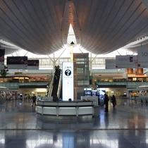 【羽田空港】電車で約40分