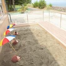 砂むし温泉 じんわり優しい熱が、体を内側から温めてくれる