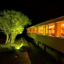 メインダイニング「菜摘」 ガジュマルの木