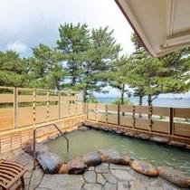 天然かけ流し温泉「知林之湯」露天風呂