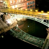 *【十綱橋】飯坂温泉のシンボルの1つ
