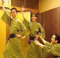 オトコの絆を深める親睦旅へ!サタデーナイトフィーバー!