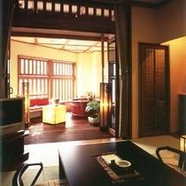 アジアンテイストな和室・露天風呂付客室【珊瑚】