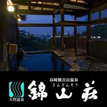 錦山荘 大浴場