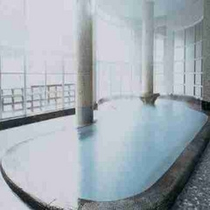 源泉かけ流し温泉ー大浴場