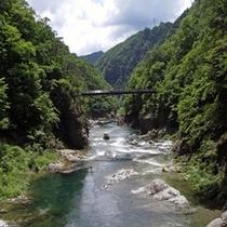 龍王峡ー渓谷というだけに絶景。