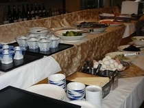 【朝食】朝食セッティング