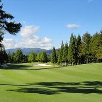 【荘川・ゴルフ場】周辺には沢山のゴルフ場があります