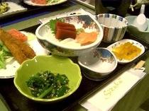 和食御膳(ご夕食の一例です。)