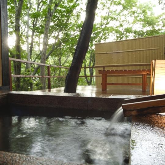サン浦島悠季の里 貸切露天風呂