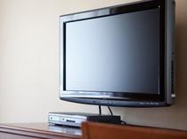 全室に液晶テレビ設置