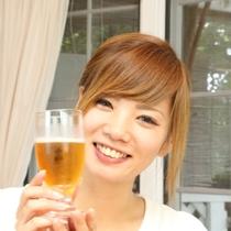 【食事風景】ビールのご用意もございます☆