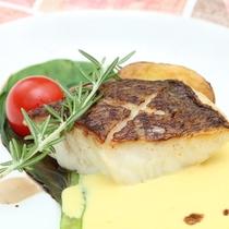 【魚料理一例】