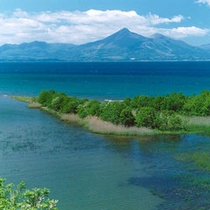 *夏の猪苗代湖