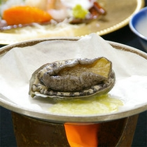 あわび料理 (※お料理は一例です)