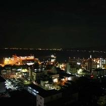 お部屋からの眺め -港の夜景-