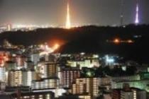 仙台を一望の夜景♪