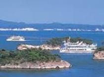 松島島めぐり♪観光遊覧船♪