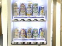 ホテル内、アルコール自販機は、5階にございます~♪