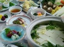 湯豆腐コース会席