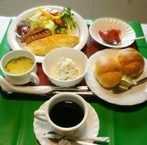 和食・洋食をお選びいただけます!<洋食朝食の一例>