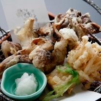 松茸ときのこ天ぷら盛合せ