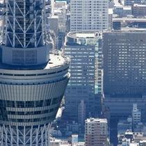 東京ツカイツリーとホテル