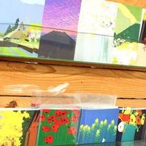 *【館内】貼り絵で有名な作家・内田正泰さんの作品を鑑賞できます!