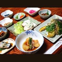 *【女将特製の田舎料理】群馬県産の野菜や米をふんだんに使用♪