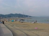 .浦県民サンビーチ 風景