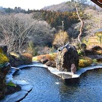 *【露天風呂】自然に囲まれた露天風呂で、心も体もリフレッシュ!