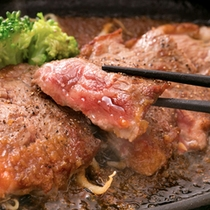 【国産黒毛和牛サーロインステーキ】