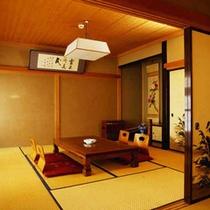 客室は22室あり、人数などに応じて様々なお部屋をご用意しております。