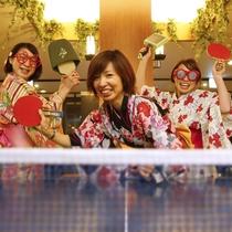女子会卓球