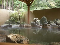 大浴場 露天風呂風景