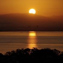 びわ湖景色
