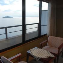 全室オーシャンビュー!まるで海の上に浮いているような景色がお楽しみいただけます