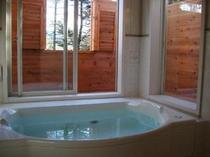 展望窓付き貸切風呂