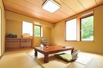 神奈山・ブナの森の和室
