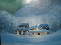 冬のハイランドロッジ