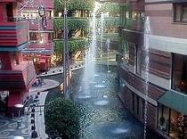 キャナルシティ噴水イリュージョン!当ホテルより徒歩で10分程です♪