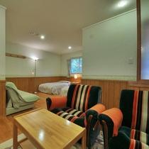 【209/スイートタイプ】鮮麗されたデザイン、スイートタイプのお部屋です