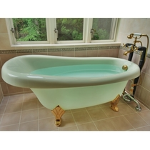 【207/スイートタイプ】お風呂は猫足タイプ専用テラス露天風呂付♪ 森に面した眺望のよいお風呂です。