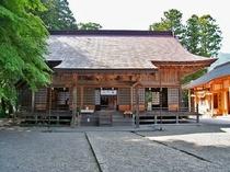 須佐神社 拝殿