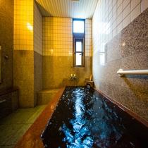 *天然温泉(別館一例)。 2種類のお風呂をご用意しております!