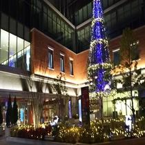 ホテル近隣施設久留米シティプラザホテルから徒歩で約3分